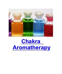 colored bottles aromatherapy chakras