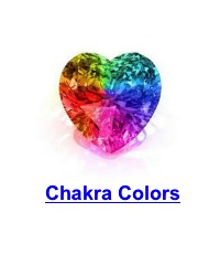 rainbow diamond chakra colors