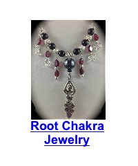 root chakra healing garnet necklace