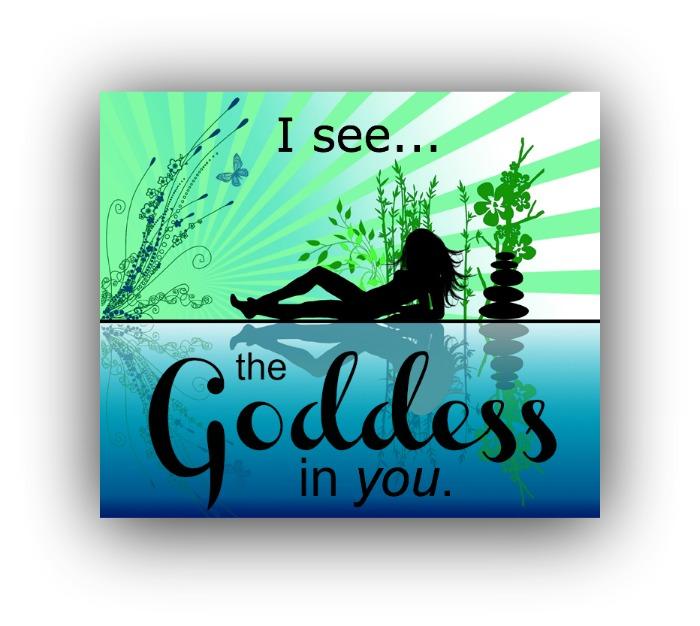 goddess silhouette