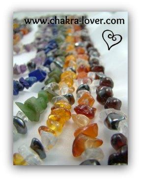 chakra jewelry 7 strand necklace