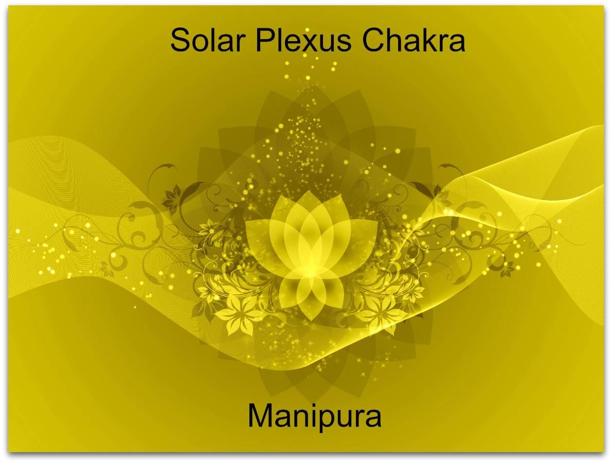 yellow chakra lotus