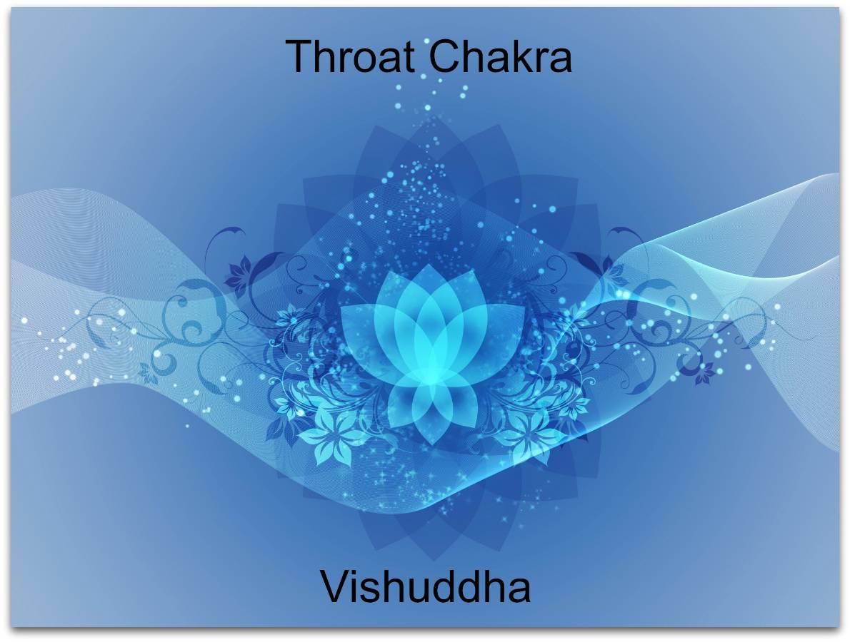 blue chakra lotus