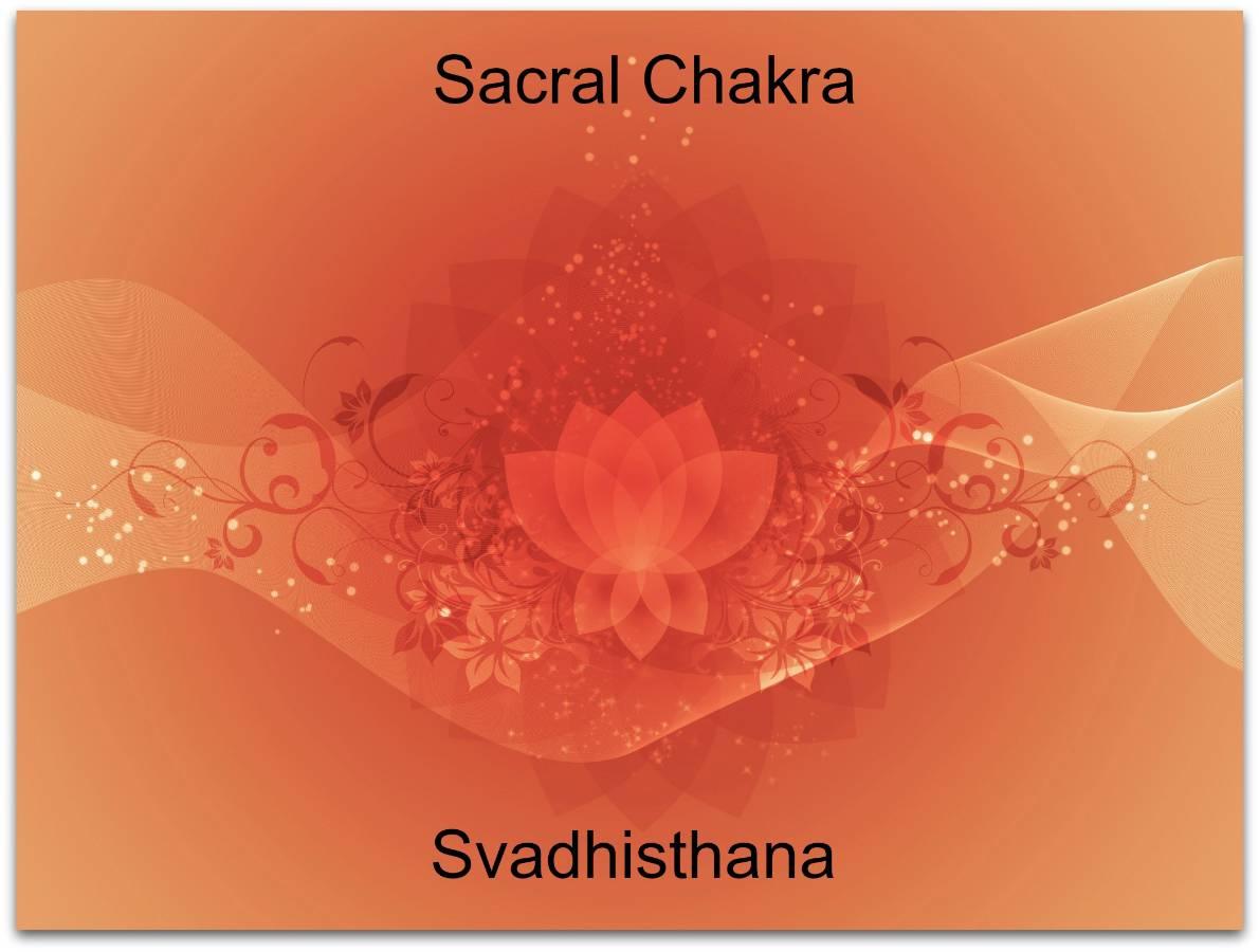 orange chakra lotus